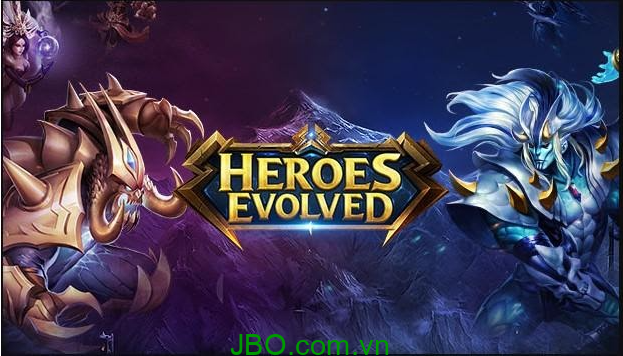 Heroes Evolved dòng game Moba hay